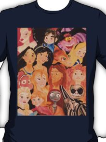 Disney Character Collage T-Shirt