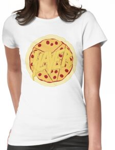 Pizza Slayer Womens Fitted T-Shirt