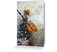 Paddle paddle Greeting Card