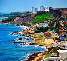 The Shores Of Puerto Rico by Christopher Keough