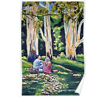 Majesty Of Trees-Glenworth Valley NSW Poster