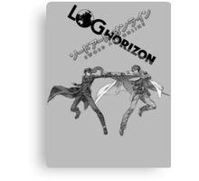 Log Horizon VS. Sword Art Online Canvas Print