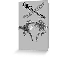 Log Horizon VS. Sword Art Online Greeting Card