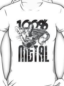 100% Metal - Light T-Shirt