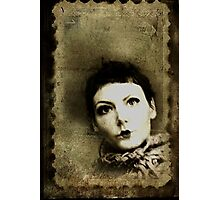 Doll stamp(self portrait) Photographic Print