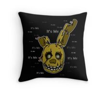 Five Nights at Freddy's - FNAF 3 - Springtrap - It's Me Throw Pillow