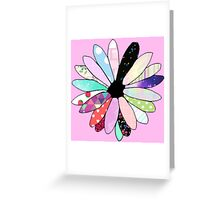 Scrapbook Flower Greeting Card
