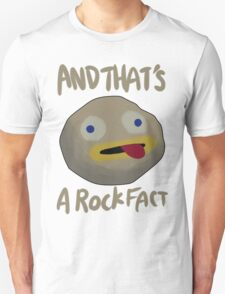 And That's a Rock Fact! T-Shirt