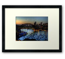Awakening - Moods Of A City - The HDR Experience Framed Print