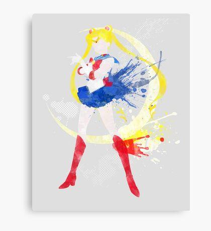 Sailormoon Print Canvas Print