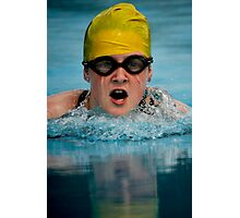 Don't you hate it when your goggles fill up with water!! Photographic Print