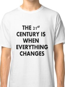 Torchwood 21st CENTURY Classic T-Shirt