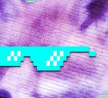 BluShades Logo Upscale Sticker