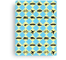 Travel Ride Canvas Print