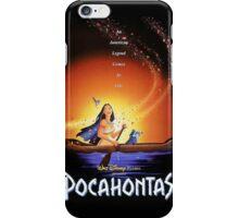 Pocahontas Movie Poster iPhone Case/Skin