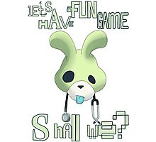 Let's have a fun game shall we? Photographic Print