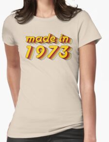 Made in 1973 (Yellow&Red) T-Shirt