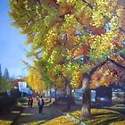 Autumn at Yonsei : The Very First Painting (Original) by BuaS