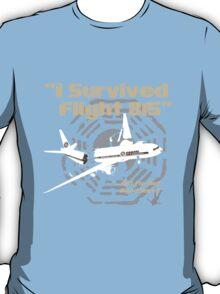 """LOST """"I Survived Flight 815"""" T-Shirt"""
