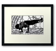 Yoga art 5 Framed Print