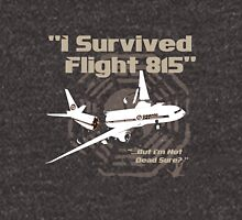 """I Survived Flight 815"" But I'm Not Dead Sure? (BROWN) Hoodie"