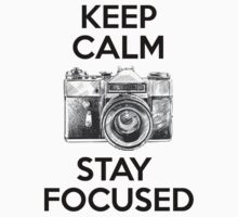 Keep Calm Stay Focused Kids Clothes