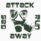 Gas Attack Run Away by iuchiatesoro