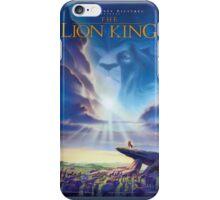 Lion King Poster iPhone Case/Skin
