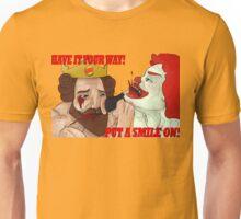 The King vs The Clown Unisex T-Shirt