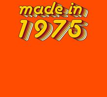 Made in 1975 (Yellow&Red) T-Shirt