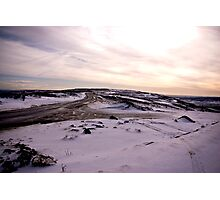 A Winters Road Photographic Print