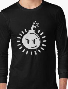 Funny Bomb - Black T Long Sleeve T-Shirt