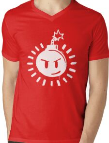 Funny Bomb - Black T Mens V-Neck T-Shirt
