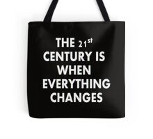 Torchwood - Everything Changes Tote Bag