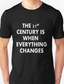 Torchwood - Everything Changes Unisex T-Shirt
