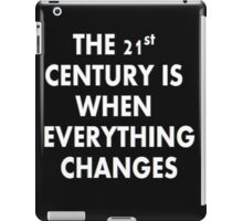 Torchwood - Everything Changes iPad Case/Skin