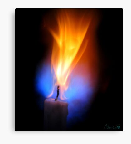 Candle Force Canvas Print