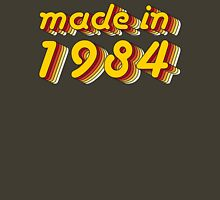 Made in 1984 (Yellow&Red) T-Shirt