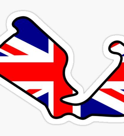 British Grand Prix Sticker
