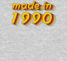Made in 1990 (Yellow&Red) Mens V-Neck T-Shirt