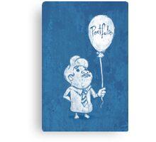 Portfolio Balloon Canvas Print