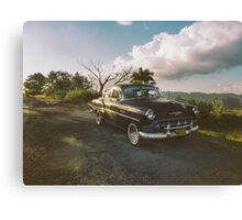 Cruising into the weekend  Canvas Print