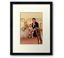 Wedding fun Framed Print