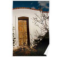 what awaits...... Tucson doorway Poster