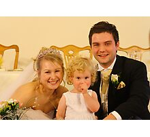 Wedding photo Photographic Print