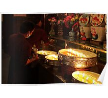 Tibetan monastery Poster