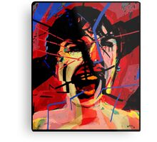 Shower scene from Psycho Metal Print