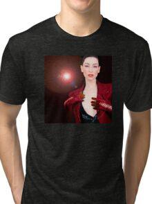 Nyree Song Bird Tri-blend T-Shirt