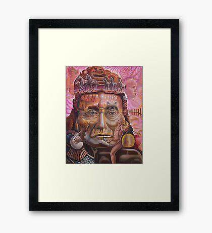Chief Joseph  ''NATIVE''  Framed Print
