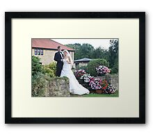 Wedding garden Framed Print